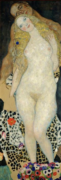 Адам и Ева. Густав Климт