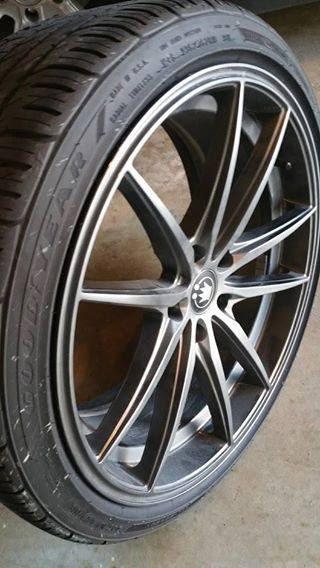 Sold 19 Konig Oversteer Opal Rims Goodyear Eagle  Acurazine Acura Enthusiast