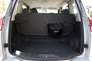 2011 VPG Autos MV-1 rear cargo area