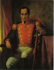 Ricardo Acevedo Bernal. El Libertador Simón Bolívar (Óleo) Casa de Nariño