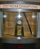 Syracuse Orangemen 2003 Championship trophy