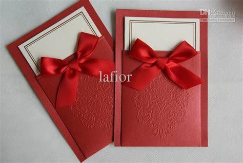 China Red Wedding Invitations New Wedding Cards Wedding