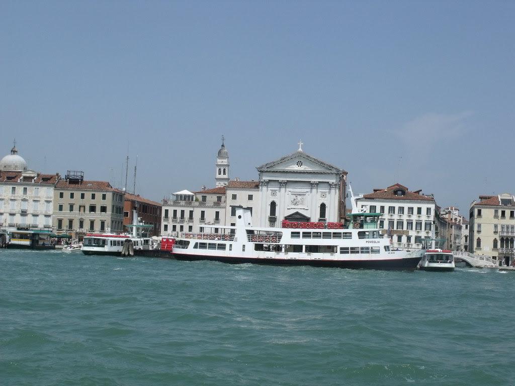 Venice - Arrival by boat - Poveglia