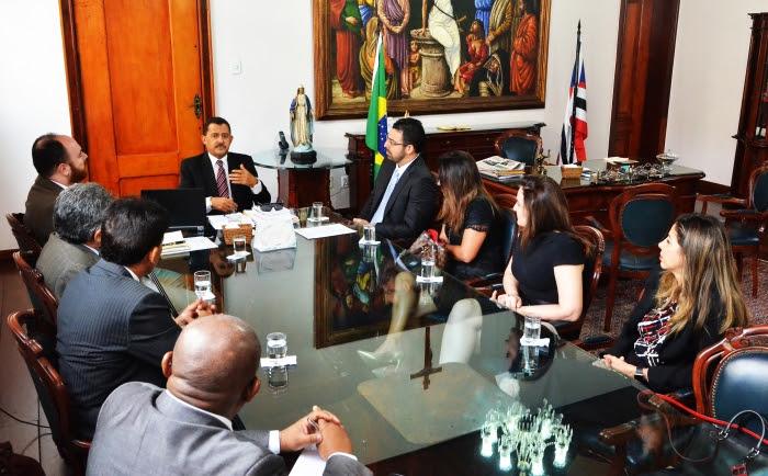 Na reunião, foram discutidas questões pertinentes à magistratura (Foto: Ribamar Pinheiro)