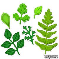 Лезвия от Spellbinders - Foliage, 6 шт - ScrapUA.com