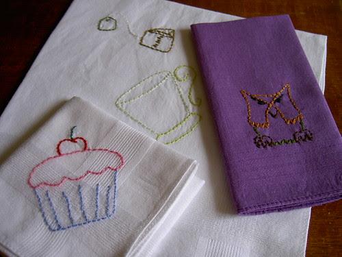 Sublime Stitching hankies