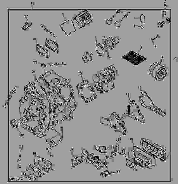 35 John Deere Gator Hpx Parts Diagram