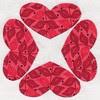 H-12 Hannah Lou's Hearts