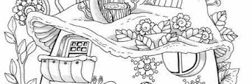 House Coloring Book Printable