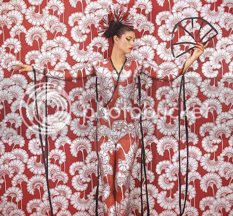 Emma Hack's Body Art Wallpaper 14