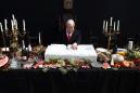 'Last Supper' artwork of feasting Netanyahu irks Israeli leader