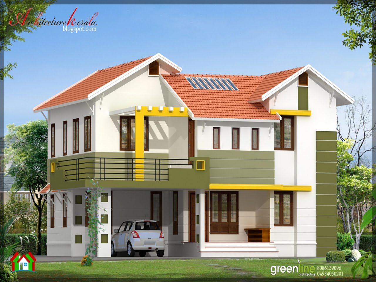 Simple Modern House Designs Simple House Design in India, home designs indian style  Treesranch.com