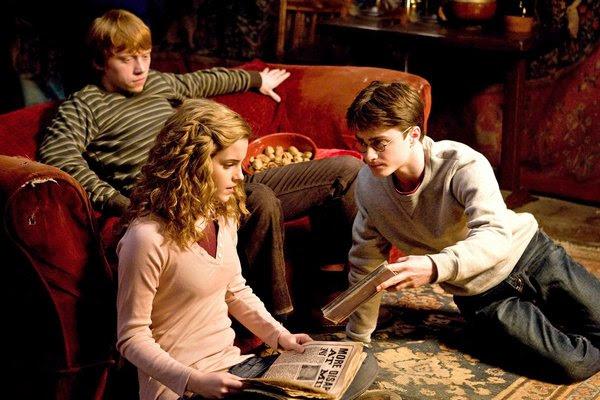 榮恩、妙麗和哈利