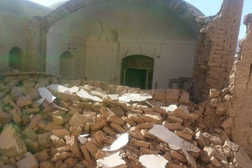 earthquake iran