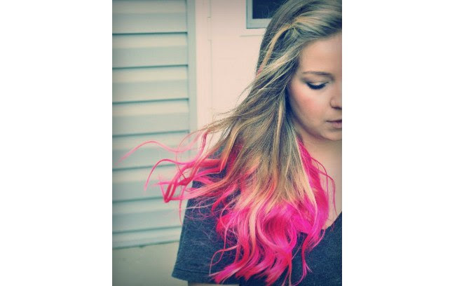 Um pink bem chamativo para um novo visual