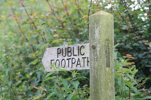 Public Footpath to Glastonbury Tor