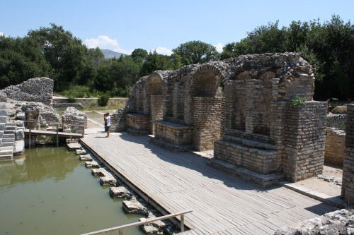 Stage Buildings of the Theatre of Butrint