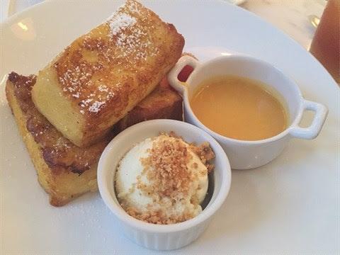 法式梳乎蛋多士配鮮果及雪糕 - 銅鑼灣的小甜谷 Dessert Kaffee