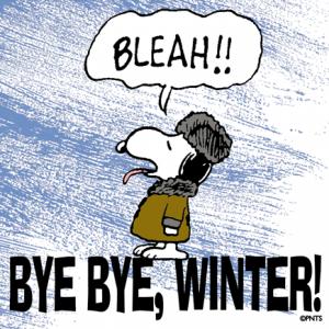 blah to winter