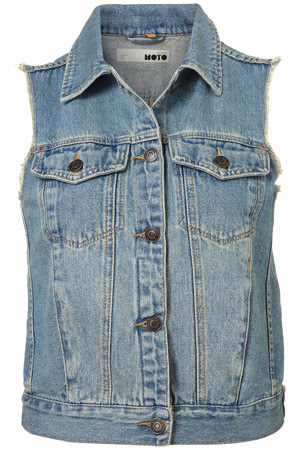 Jean Jacket Vest For WomenConfession