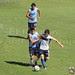 Ezequiel Campo luchando por el balón