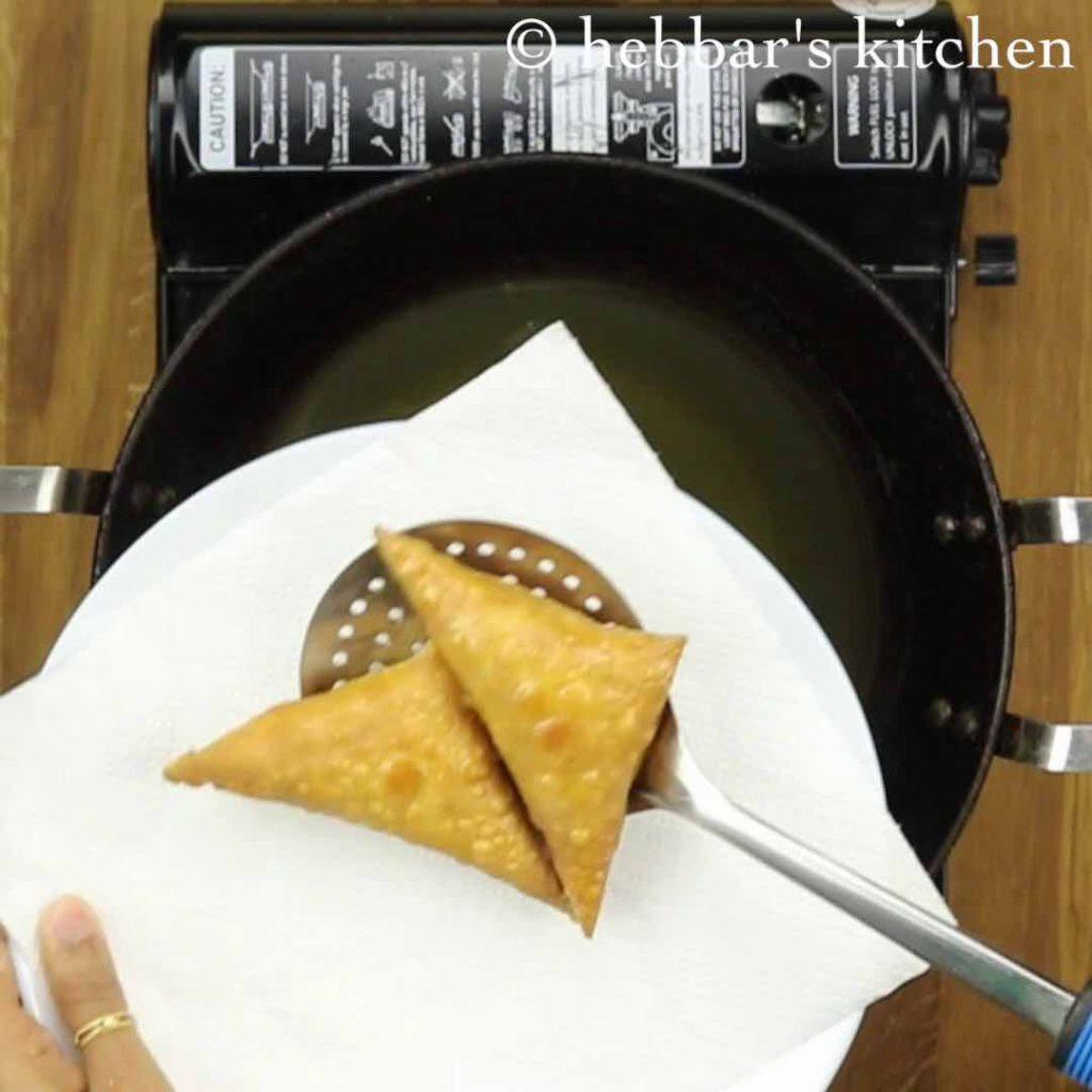 Samosa Recipe Hebbars Kitchen