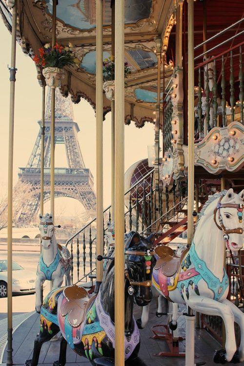 Fun in Paris...I can hear the calliope playing!