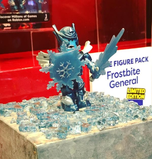Roblox Frostbite General Toy Code How To Get Free Robux No - sdcc 2019 roblox toy deadly dark dominus free robux no