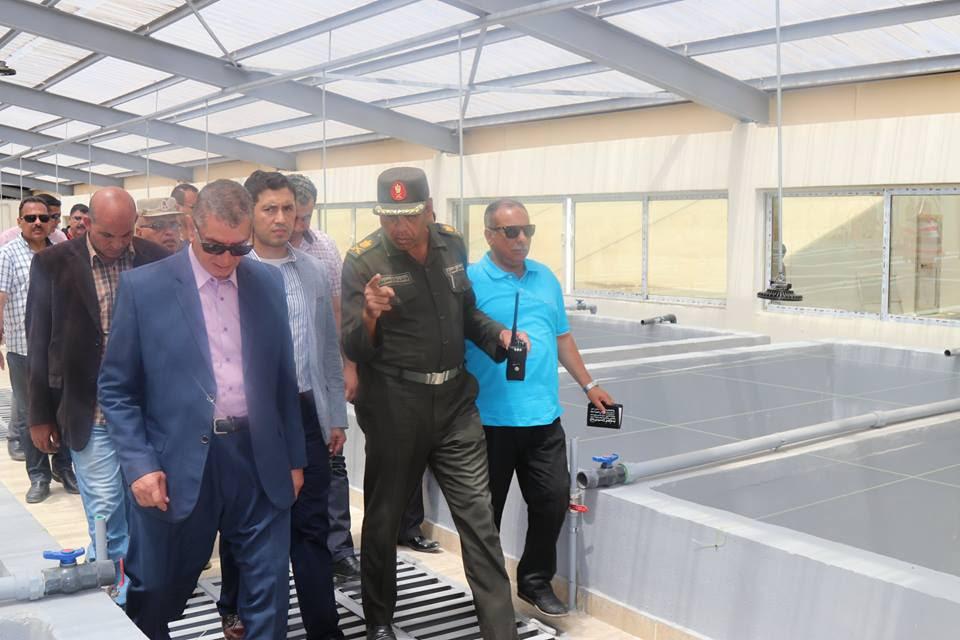 7- جانب من الزيارات الميدانية لمزرعة استعداداً لزيارة الرئيس