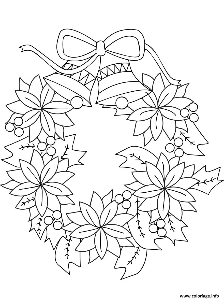Картинки новогодних венков для срисовки