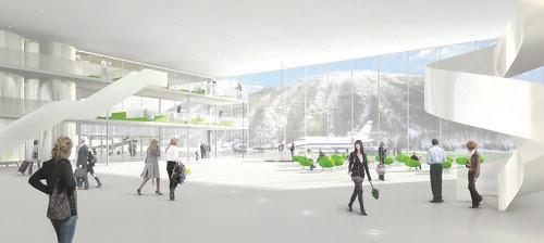 Engadin Airport, St. Moritz - Samedan © HOSOYA SCHAEFER Architects