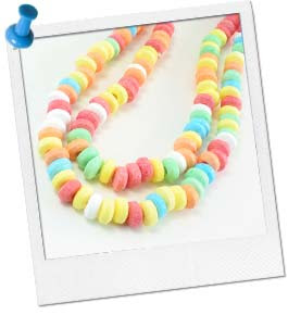 Girls Party Ideas   Crafts for Girls   Edible Jewelry Making at ...