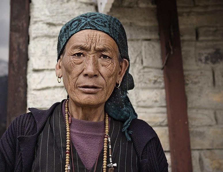 File:Nepali woman, Ghyaru (crop).jpg