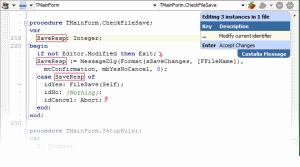 Castalia In Code Editor