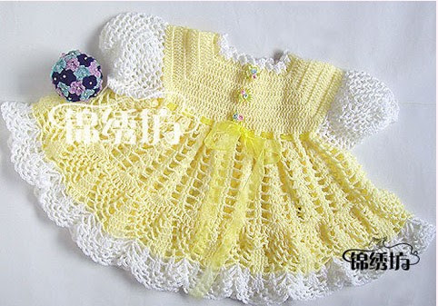 MASTER CLASS DETAILED FORDRESSES FOR TODDLERS - CrochetRibArt