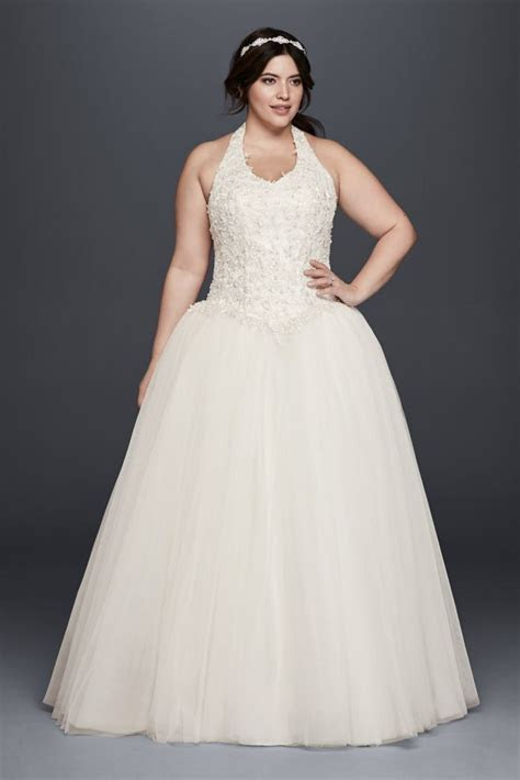 Basque Waist Plus Size Ball Gown Wedding Dress Style