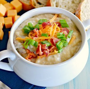 "Phenomenal ""Loaded"" Baked Potato Soup"