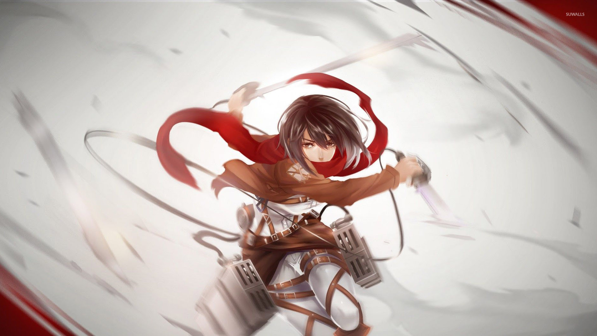Attack On Titan Mikasa Ackerman Wallpapers 82 Images