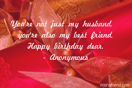 Youre Not Just My Husband Youre Birthday Quote For Husband