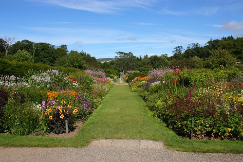 Borders in the Walled Garden at Culzean Castle