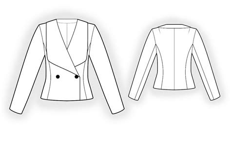 double breasted jacket sewing pattern