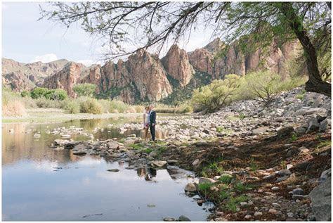 Mesa, Arizona Elopement at Saguaro Lake Ranch   Clayton
