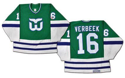 Hartford Whalers 89-90 jersey, Hartford Whalers 89-90 jersey
