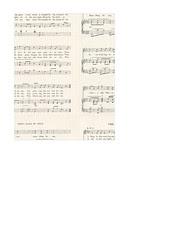 portrait A2 card size JPG Christmas GF Vintage sheet music LARGE SCALE