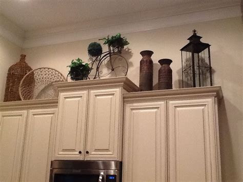 decorating  kitchen cabinets  home pinterest