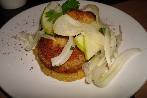 Crab Cakes at Comme Ca