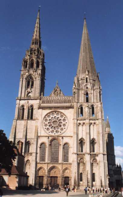 Resultado de imagem para cathédrale de chartres