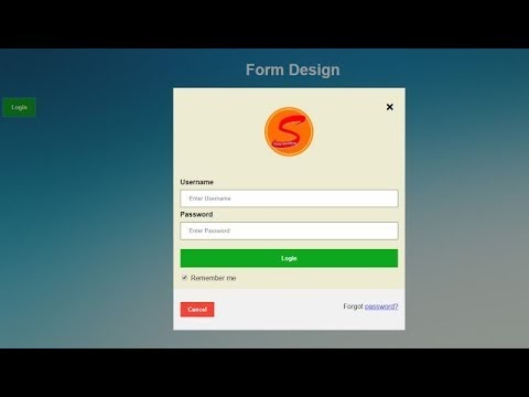 How to Learn Website Design HTML, CSS ,JAVASCRIPT, JQUERY | Form Login b...