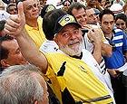 Corinthians só empata com Lula na torcida (globoesporte)