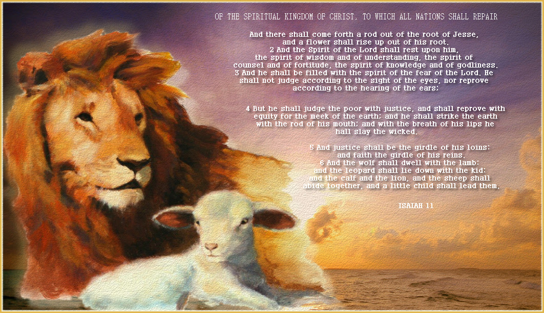 Lion And Lamb Quote Bible Quotes